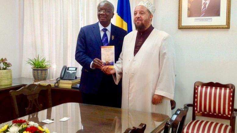 With Prime Minister Stuart