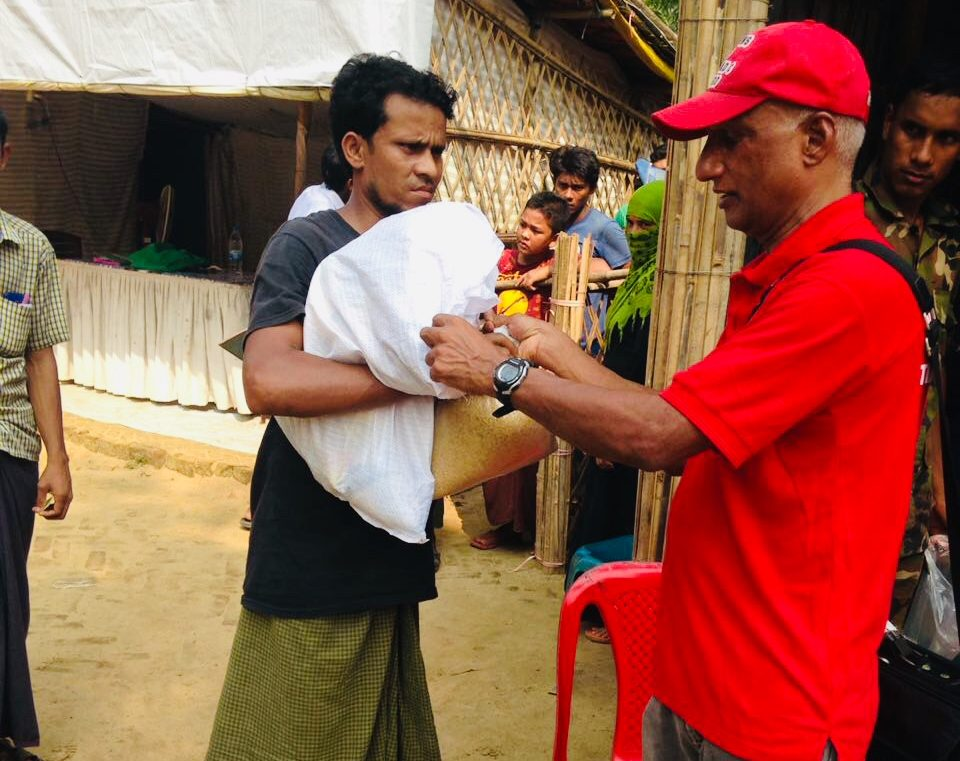 Relief Supplies For Rohingya