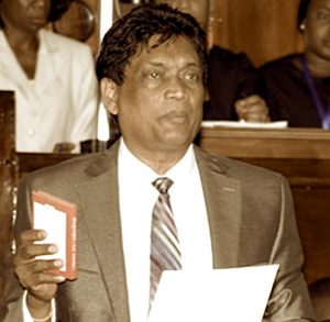 MP Charandass Persaud