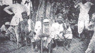 A group of Muslim British Guiana 1919