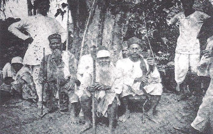 A group of Muslim British Guiana 1919