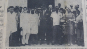 # 78 Mosque centennial celebration in the Corentyne in September 1963